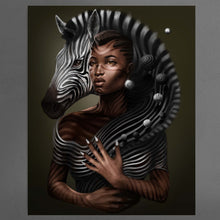 Load image into Gallery viewer, Lady and the Bedik Zebra