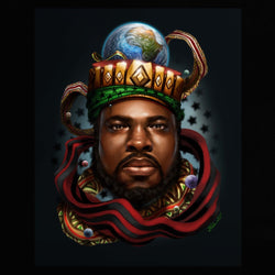 The Starlight King - Marcus Moziah Garvey Edition