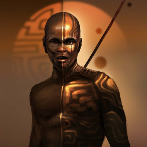 The Nuba Warrior