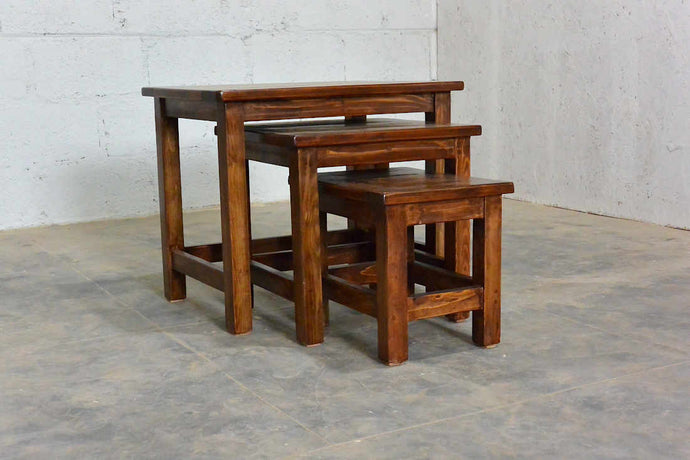 Nesting Tables: A 'Fitting' Example of Beauty with Functionality