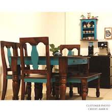 Load image into Gallery viewer, Afreen - 6-Seater Solid Wood Dining Set