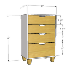 Load image into Gallery viewer, Avalor - Compact Chest of Drawers