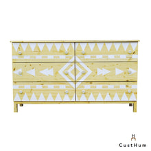 Load image into Gallery viewer, CustHum-Aztec-chest-of-drawers01