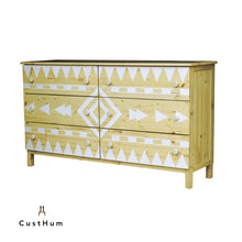 Load image into Gallery viewer, CustHum-Aztec-chest-of-drawers02