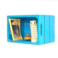 Load image into Gallery viewer, CustHum-Crate-shelf-teal01