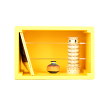 Load image into Gallery viewer, CustHum-Crate-shelf-yellow02
