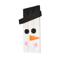 Load image into Gallery viewer, Frosty – Colorful Wooden Snowman