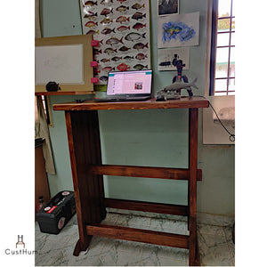 CustHum-Goodall-standing desk-customer photo