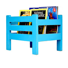 Load image into Gallery viewer, CustHum-Hamlet-magazine-holder-teal01