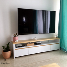 Load image into Gallery viewer, Annette - Sleek Minimalistic TV Console