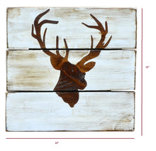 Load image into Gallery viewer, Stag Head - Rustic Wall Board