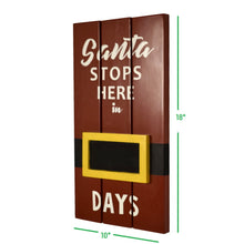 Load image into Gallery viewer, CustHum-Santa-day-counter-dimensions