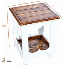 Load image into Gallery viewer, CustHum-Sera-side-table-dimensions