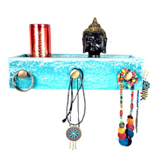 Load image into Gallery viewer, CustHum-Maia-wall-mounted-jewellery-stand-shelf-crackled01