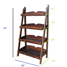 Load image into Gallery viewer, CustHum-Haveli-laddershelf-dimensions