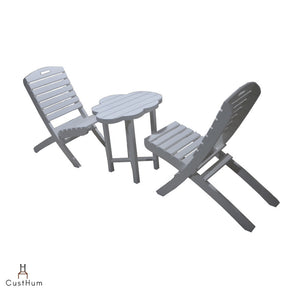 CustHum-Moln-outdoor table chair set