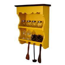Load image into Gallery viewer, CustHum-Nutmeg-Spice-Shelf-yellow02