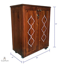 Load image into Gallery viewer, CustHum-Siduri-bar cabinet-dimensions