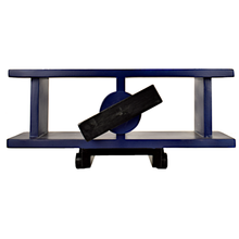 Load image into Gallery viewer, CustHum-Sopwith-airplane-shelf-blue01