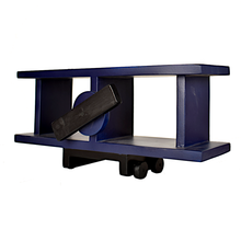 Load image into Gallery viewer, CustHum-Sopwith-airplane-shelf-blue03