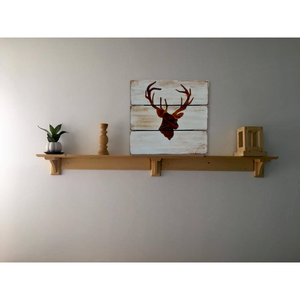 CustHum-Stage Head-rustic wall board