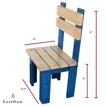 Load image into Gallery viewer, CustHum-Townsville-chair-dimensions