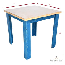 Load image into Gallery viewer, CustHum-Townsville-table-dimensions