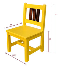 Load image into Gallery viewer, CustHum-Tweety-kids-chair-LWH