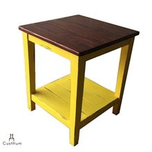 Load image into Gallery viewer, CustHum-Vasanth-solid wood side table-02