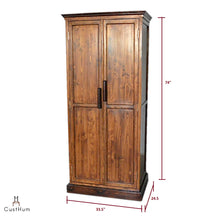 Load image into Gallery viewer, CustHum-Victoria-wardrobe-dimensions