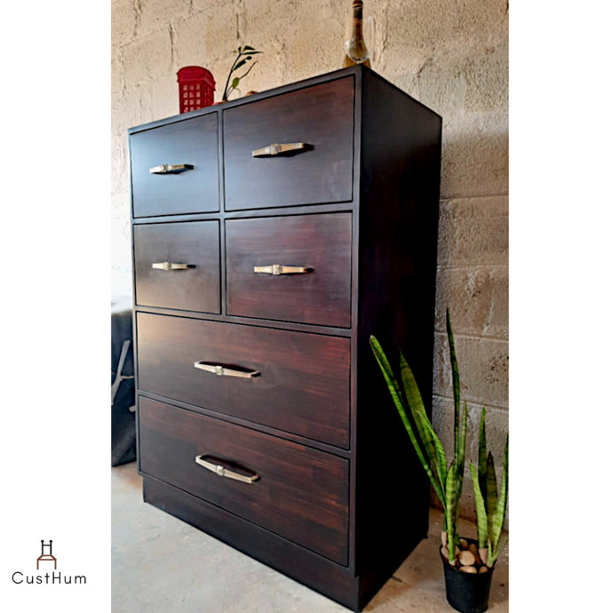 Vismay - Solid Wood Chest of Drawers