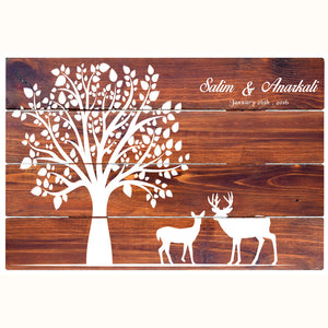 CustHum-Forever Love-rustic wall board-02