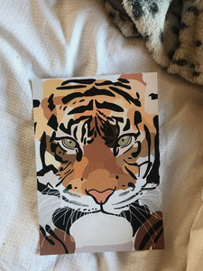 The Tiger Within Print