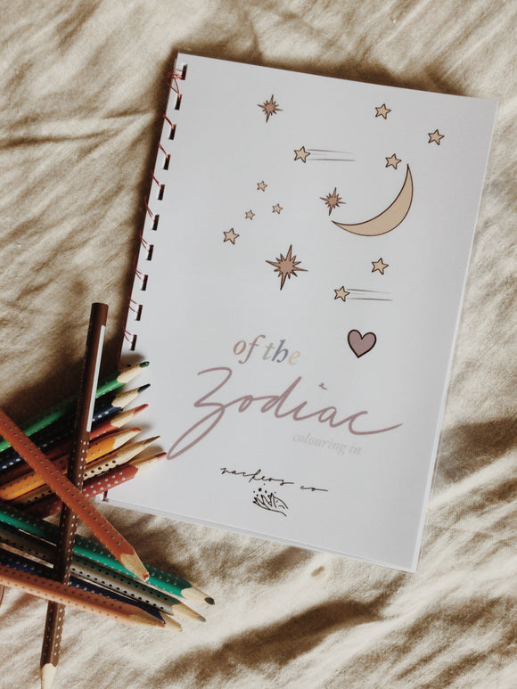 of the zodiac colouring book