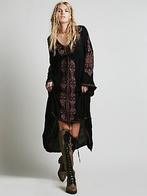 Women's Sexy & Beautiful Boho Embroidery Long Dress - Fashion-Beach.com
