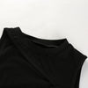 Sweetown Off Shoulder Knitted Bustier Crop Top Women Round Neck Hollow Out Chest Sleeveless Tube Tank Tops Summer Sexy Camis Top - Fashion-Beach.com