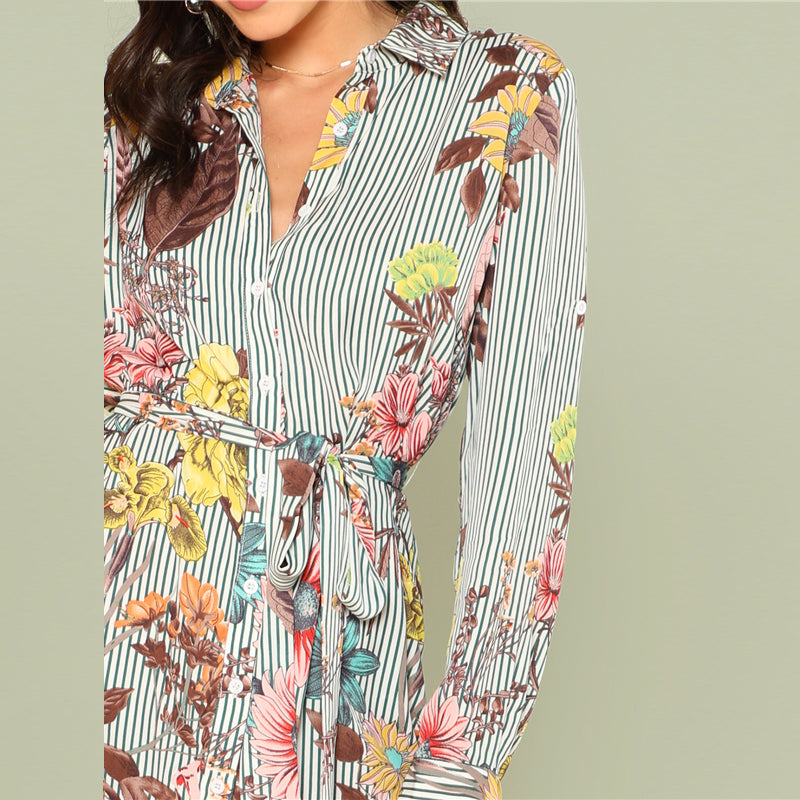 Women's Sexy High Low Floral Summer Dress - Fashion-Beach.com
