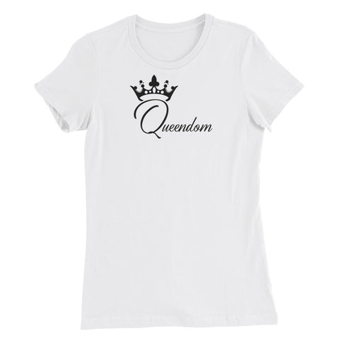 Queendom Women's Slim Fit T-Shirt