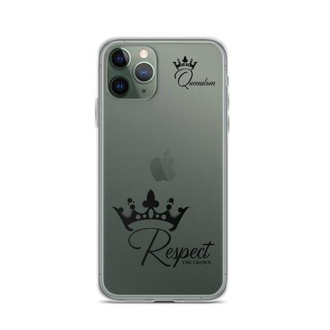 """Respect The Crown"" iPhone Case"