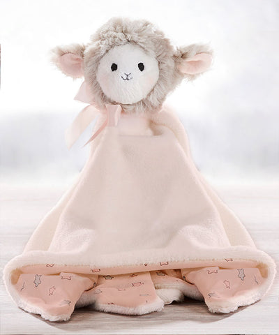 Super Soft Sheep Rattle Blanket