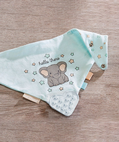 Sheep Lil Llama Cotton Teething Bib