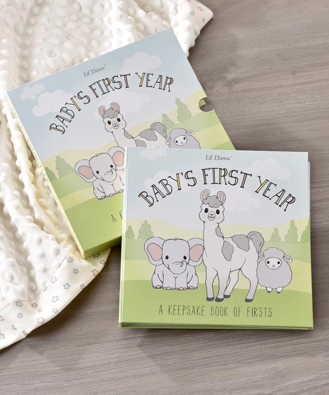 Lil' Llama Baby's First Year Memory Book