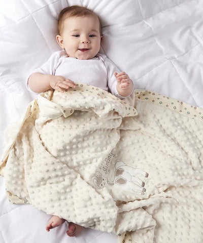 Llama Double-Sided Baby Blanket