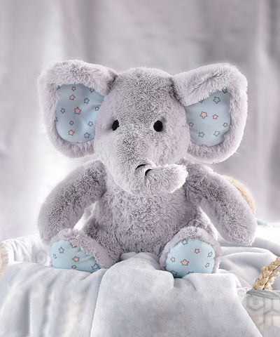 Elephant Plush Toy & Snuggle Blanket Gift Set