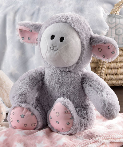Sheep Plush Toy & Snuggle Blanket Gift Set