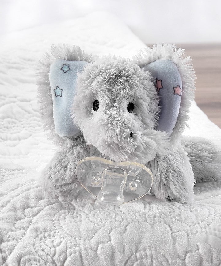 Elephant Pacifier Buddy