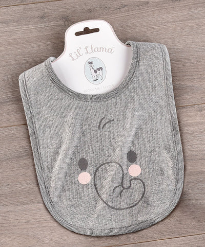 Elephant Cotton Drool Bib