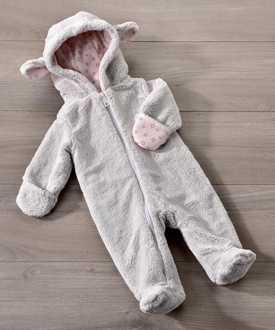 Ultra-Soft Sheep Hoodie Onesie