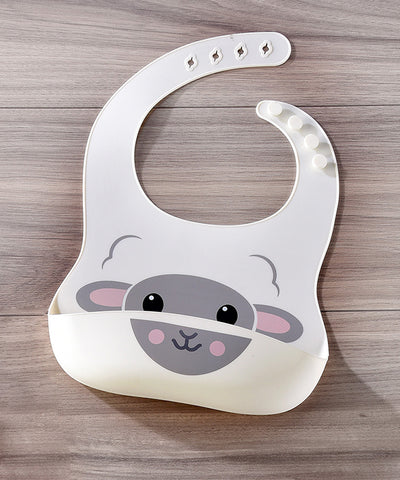 Sheep Silicone Baby Bib