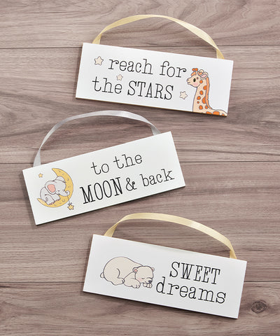 Wall & Door Signs, The Moon